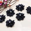 Felvarható virág TEX 002, Textil, Felvarrható kellék, Ékszerkészítés, Mindenmás, Szerelékek, TEX 002  Felvarható textil virág. Kiváló ruhák díszítéséhez.  6 db / csomag       , Alkotók boltja