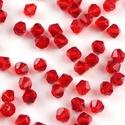 Cseh kristály, csiszolt bicon 30db/cs 4mm-es BI05, Gyöngy, ékszerkellék, Féldrágakő, Cseh kristály, csiszolt bicon   4 mm-es  30db / csomag   , Alkotók boltja