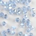 Cseh kristály, csiszolt bicon 30db/cs 4mm-es BI10, Gyöngy, ékszerkellék, Féldrágakő, Cseh kristály, csiszolt bicon   4 mm-es  30db / csomag   , Alkotók boltja