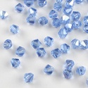 Cseh kristály, csiszolt bicon 30db/cs 4mm-es BI14, Gyöngy, ékszerkellék, Féldrágakő, Cseh kristály, csiszolt bicon   4 mm-es  30db / csomag   , Alkotók boltja