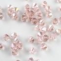 Cseh kristály, csiszolt bicon 30db/cs 4mm-es BI17, Gyöngy, ékszerkellék, Üveggyöngy, Cseh kristály, csiszolt bicon   4 mm-es  30db / csomag   , Alkotók boltja