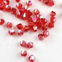 Cseh kristály, csiszolt bicon 30db/cs 4mm-es BI23, Gyöngy, ékszerkellék, Féldrágakő, Alkotók boltja