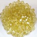 Cseh kristály, csiszolt bicon 30db/cs 4mm-es BI55, Gyöngy, ékszerkellék, Üveggyöngy, Cseh kristály, csiszolt bicon   4 mm-es  30db / csomag   , Alkotók boltja