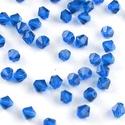 Cseh kristály, csiszolt bicon 30db/cs 4mm-es BI85, Gyöngy, ékszerkellék, Üveggyöngy, Cseh kristály, csiszolt bicon   4 mm-es  30db / csomag   , Alkotók boltja