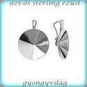 925-ös ezüst medálkapocs EMK 55-18, Gyöngy, ékszerkellék, Egyéb alkatrész, Ékszerkészítés, Gyöngy, 925-ös fémjellel ellátott valódi ezüst (bevizsgált)medálkapocs.  A méreteket a fotón láthatod. 925-..., Alkotók boltja