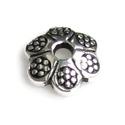 925-ös sterling ezüst gyöngykupak  1db/ csomag  EGYK 24, Gyöngy, ékszerkellék, Fém köztesek, EGYK 24  925-ös fémjellel ellátott antikolt valódi ezüst (bevizsgált) gyöngykupak.   1 db / c..., Alkotók boltja