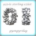 925-ös ezüst köztes / gyöngy / dísz EKÖ 66, Gyöngy, ékszerkellék, Fém köztesek, Ékszerkészítés, Mindenmás, Szerelékek, EKÖ 66   925-ös valódi  ezüst (bevizsgált) köztes / gyöngy / díszitőelem .    1 db / csomag    Az e..., Alkotók boltja