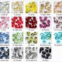 Swarovski rivoli ragasztható 20db/cs 4mm , Gyöngy, ékszerkellék, Swarovski kristályok, Ékszerkészítés, Mindenmás, Szerelékek, SWAROVSKI KRISTÁLY  RAGASZTHATÓ RIVOLI  TÖBB SZÍNBEN !   Méret:4mm   Az ár 20db-ra vonatkozik!   A ..., Alkotók boltja