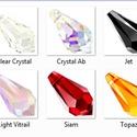 swarovski csepp 15mm-es több színben , Gyöngy, ékszerkellék, Swarovski kristályok, SWAROVSKI KRISTÁLY CSEPP, TÖBB SZÍNBEN !  Méret:15mm   Az ár egy darabra vonatkozik!    A színtábláz..., Alkotók boltja