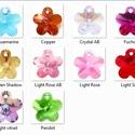 Swarovski virág 14mm-es több színben, Gyöngy, ékszerkellék, Swarovski kristályok, SWAROVSKI KRISTÁLY VIRÁG, TÖBB SZÍNBEN !  Méret:14mm  Az ár egy darabra vonatkozik!    A színtábláza..., Alkotók boltja