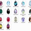 Swarovski csepp 22 mm-es több színben , Gyöngy, ékszerkellék, Swarovski kristályok, SWAROVSKI KRISTÁLY CSEPP MEDÁL, TÖBB SZÍNBEN !  Méret:22 mm  Az ár egy darabra vonatkozik!  A színtá..., Alkotók boltja