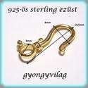 Gold Filled 1soros lánckapocs ELK 1S 38g , Gyöngy, ékszerkellék, Egyéb alkatrész, Alkotók boltja