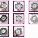 fűzhető óraszerkezet több féle  BOSZ, Gyöngy, ékszerkellék, Egyéb alkatrész, Fűzhető óraszerkezet.   Az ár 1 db órára vonatkozik.  Készlet: 1.-1db 2.-3db 6.-1db 29.-1db 3..., Alkotók boltja