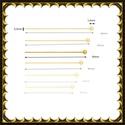 Gold  Filled szerelőpálca gömb végű  50  x 0,5mm-es, Gyöngy, ékszerkellék, Egyéb alkatrész, Ékszerkészítés, Mindenmás, Szerelékek, Gold Filled 35mm hosszú 0,5mm drótvastagságú. A végén gömb .  1 db    Gold Filled (aranydiffúziós) ..., Alkotók boltja