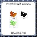 Ékszterkellék: Swarovski pillangó  18 mm-es több színben , Gyöngy, ékszerkellék, Swarovski kristályok, Eredeti swarovski kristály pillangó medál .  Méret: 18 mm Szín:több szín   Az ár egy darabra..., Alkotók boltja