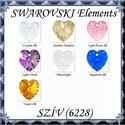 Ékszerkellék: Swarovski szív 14mm-es AB  több színben , Gyöngy, ékszerkellék, Swarovski kristályok, Ékszerkészítés, Gyöngy, SWAROVSKI KRISTÁLY AB BEVONATOS SZÍV TÖBB SZÍNBEN !  Méret:14mm  Az ár egy darabra vonatkozik!  A s..., Alkotók boltja
