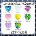 Ékszerkellék: Swarovski szív 18mm-es AB több színben  , Gyöngy, ékszerkellék, Swarovski kristályok, Ékszerkészítés, Gyöngy, SWAROVSKI KRISTÁLY AB BEVONATOS SZÍV TÖBB SZÍNBEN !  Méret:18mm  Az ár egy darabra vonatkozik!  A s..., Alkotók boltja