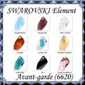 Ékszerkellék: Swarovski kristály avant-garde 20mm-es több színben, Gyöngy, ékszerkellék, Swarovski kristályok, SWAROVSKI KRISTÁLY AVANT-GARDE MEDÁL, TÖBB SZÍNBEN !  Méret:20mm  Az ár egy darabra vonatkozik!  A s..., Alkotók boltja
