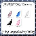 Ékszerkellék: Swarovski Wing (angyalszárny ) 23mm-es több színben , Gyöngy, ékszerkellék, Swarovski kristályok, SWAROVSKI KRISTÁLY WING (ANGYALSZÁRNY), TÖBB SZÍNBEN !  Méret:23mm  Az ár egy darabra vonatkozik!  A..., Alkotók boltja