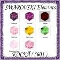 Ékszerkellék: Swarovski kocka 4mm-es több színben, Gyöngy, ékszerkellék, Swarovski kristályok, SWAROVSKI KRISTÁLY KOCKA, TÖBB SZÍNBEN ! 1db / csomag Méret:4mm  Az ár 1 darabra vonatkozik!  A szín..., Alkotók boltja