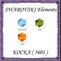 Ékszerkellék: Swarovski kocka 8mm-es több színben, Gyöngy, ékszerkellék, Swarovski kristályok, SWAROVSKI KRISTÁLY KOCKA, TÖBB SZÍNBEN ! 1db / csomag Méret:8mm  Az ár 1 darabra vonatkozik!  A szín..., Alkotók boltja