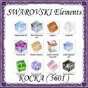 Ékszerkellék: Swarovski kocka 4mm-es AB bevonatos  több színben, Gyöngy, ékszerkellék, Swarovski kristályok, Ékszerkészítés, Gyöngy, SWAROVSKI KRISTÁLY KOCKA,AB-BEVONATOS TÖBB SZÍNBEN !   Méret:4mm  Az ár 1db kocka   A színtáblázato..., Alkotók boltja