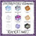 Ékszerkellék: Swarovski kocka 6mm-es AB bevonatos  több színben, Gyöngy, ékszerkellék, Swarovski kristályok, Ékszerkészítés, Gyöngy, SWAROVSKI KRISTÁLY KOCKA,AB-BEVONATOS TÖBB SZÍNBEN !   Méret:6mm  Az ár 1db kocka    A színtáblázat..., Alkotók boltja