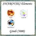 Ékszerkellék: Swarovski kristály gömb 3mm AB bevonatos 4db/csomag több színben, Gyöngy, ékszerkellék, Swarovski kristályok, Eredeti swarovski kristály AB bevonatos gömb több színben.  Méret:3mm 4db/ csomag   A 4db-ot több sz..., Alkotók boltja