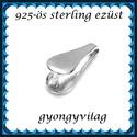 925-ös sterling ezüst ékszerkellék: medáltartó, medálkapocs EMK 83, Gyöngy, ékszerkellék, Egyéb alkatrész,  EMK 83   925-ös ezüst medálkapocs.  A méreteket a fotón láthatod  1db/csomag   Ezt a medálkapcsot a..., Alkotók boltja