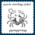925-ös sterling ezüst ékszerkellék: medál / pandora / fityegő EM24, Gyöngy, ékszerkellék, Fém köztesek, EM24  925-ös valódi ezüst (bevizsgált) medál, pandora, sharm, lánc-karkötő-fülbevaló kész..., Alkotók boltja