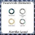 Ékszerkellék: Swarovski karika 14mm több színben, Gyöngy, ékszerkellék, Swarovski kristályok, SWAROVSKI KRISTÁLY KARIKA  MEDÁL, TÖBB SZÍNBEN !  Méret:14mm  Az ár egy darabra vonatkozik!   ..., Alkotók boltja