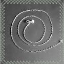 925-ös nyaklánc EÜL 24 47, Gyöngy, ékszerkellék, Egyéb alkatrész, Ékszerkészítés, Fűzőszál, 925-ös fémjellel ellátott nyaklánc.  A méretek a fotón láthatók.  A lánc hossza: 47 cm  Az ékszer 9..., Alkotók boltja