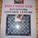 foltmozaik, Textil, 1 db könyv, Alkotók boltja