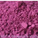 MICA POR (KRISTÁLYOS CSILLOGÁSÚ) BURGUNDI VIOLA 5 gr, Vegyes alapanyag, Szappan, MICA SELYEMPOR TERMÉSZETES SZÍNEZŐANYAG KOZMETIKAI TERMÉKEKHEZ  Természetes, ásványi eredetű..., Alkotók boltja