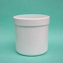 KOZMETIKAI TÉGELY CSAVAROS 250 ml, Csomagolóanyag, Szerszámok, eszközök, CSAVAROS KOZMETIKAI TÉGELY    Térfogat: 250 ml. Átmérő: 8 cm. Magasság: 8 cm. Szín: fehér.  , Alkotók boltja