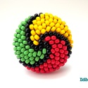 Spirálos színű kerek gyűrű - Amikor a reggae szól, Ékszer, Ballagás, Gyűrű, Gyöngyfűzés, Sok színben és variációban láthatod ezt a gyűrűmet a boltomban (illetve érdemes szétnézni az eladot..., Meska