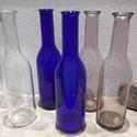 Színes üveg palack 0,25 liter 6db egyben AKCIÓ, Díszíthető tárgyak, Üveg, Üvegművészet, AKCIÓ  Színes Üvegpalack 0.25 literes leírása Magyarországon készült színes üvegpalackok, 22 cm mag..., Alkotók boltja