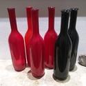 Színes Üvegpalack 0.5 liter 6 db egyben, Díszíthető tárgyak, Üveg, Üveg, Üvegművészet, AKCIÓ  Színes Üvegpalack 0.5 literes leírása Magyarországon készült színes üvegpalackok, piros és f..., Alkotók boltja