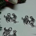 Kakas medál, Pókháló tibeti ezüst színű kakas medálok. M...