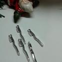 Fogmosó fogtündér fogkefe fogkrém bögre medál csomag, Tibeti ezüst színű medálok.  Méret: 2*30mm fo...