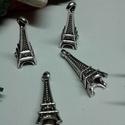 Eiffel torony Párizs medál, Eiffel torony tibeti ezüst színű medál. Méret...