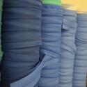 Műanyag húzózár méterre, Textil, Felvarrható kellék, Varrás, Cippzár, Színes műanyag húzózár méterre.  Méret: TR0, húzózár kocsit venni kell hozzá (én csak nikkel színűt..., Alkotók boltja
