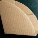 Képsarok védő - 164 db, Csomagolóanyag, Papír, Gipszöntés, Mindenmás, Az ár a 164 db-ra vonatkozik!  mérete: 1,5*6 cm anyaga: karton , Alkotók boltja