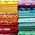 Anyagok Andinak, Textil, Anyagcsomag, Vegyes anyagok, korábbi projektekből, a megbeszéltek szerint.  Tüll, bársony, pamutvászon, stb..., Alkotók boltja