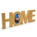 HOME fényképkeret, HOME felirat, mely fényképkeretként is funkcionál.   Mérete: 17x50x2 cm  Anyaga: mdf, Alkotók boltja