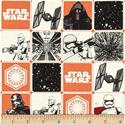Star Wars The Force Awakens Grid Orange Soda, Textil, Pamut, Varrás, Textil, Amerika designer textil Star Wars The Force Awakens Grid Orange Soda Star Wars motívummal  100% pam..., Alkotók boltja