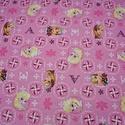 Disney Jégvarázs mesefigurás amerikai patchwork 100% pamutvászon, Textil, Pamut, Alkotók boltja