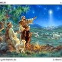 JÉZUS mint jó pásztor - előfestett gobelin alap, Textil, Vegyes alapanyag, Ez a gobelin minta 60x90cm (teljes méret), 100%-os pamut, keményített,44/cm2-es, fehér gobelin alapa..., Alkotók boltja