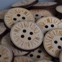Egyedi gombok, Gomb, Műanyag gomb, Kötés, horgolás, Varrás, Gomb, Egyedi gombok készítését vállaljuk fából és műanyagból. A gombok mintázata, mérete, színe, alakja, ..., Alkotók boltja