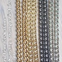 táskalánc 75 cm hosszú, fém, , Kötés, horgolás, 75 cm hosszú fém táskalánc, különböző színekben, az ár 1 db-ra vonatkozik, Alkotók boltja